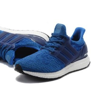 Adidas Ultra Boost 3.0 Blue Mens Running Shoes